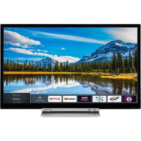 "Toshiba 32D3863DB 32"" HD Ready LED Smart TV and DVD Combi with Freeview HD"