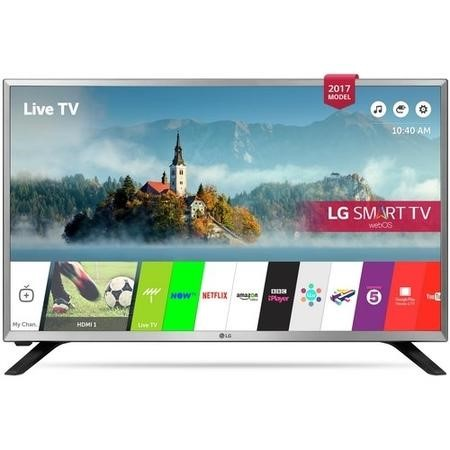 "LG 32LJ590U 32"" 720p HD Ready LED Smart TV with Freeview Play"