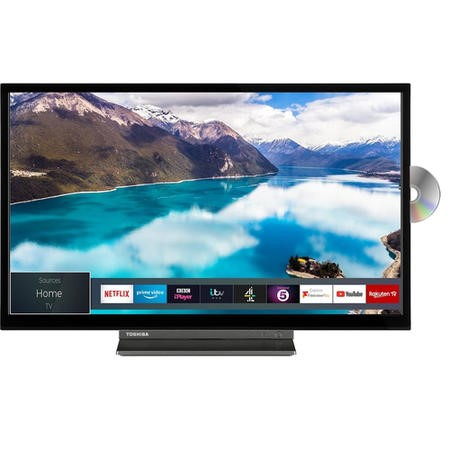 "Toshiba 32WD3A63DB 32"" HD Ready Smart LED TV and DVD Combi with Freeview Play"