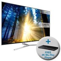 Samsung UE49KS8000 49 Inch Smart 4K Ultra HD HDR TV with FREE 4K Ultra HD Blu-Ray Player