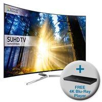 Samsung UE65KS9000 65 Inch Smart 4K Ultra HD HDR TV with FREE 4K Ultra HD Blu-Ray Player