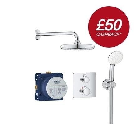 Grohe Grohtherm Perfect Shower Set with Tempesta 210 - 34729000