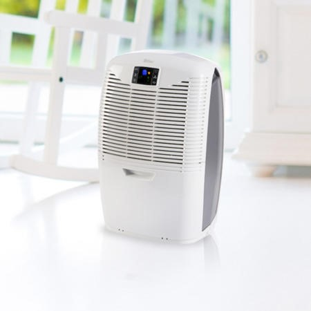 EBAC 3650e 18L Dehumidifier offers energy saving smart control simple to control for up to 4 bed room houses with 2 year warranty