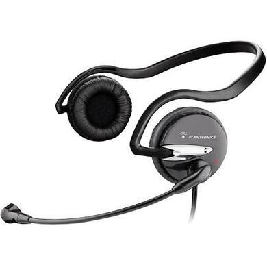 Plantronics Audio 345 Stereo PC Headset with Behind-the-Head Wearing Style Twin 3.5mm