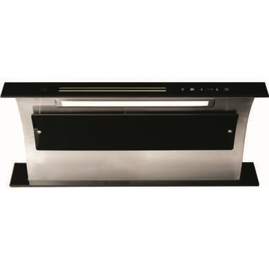 CDA 3D9BL Touch Control Downdraft Extractor