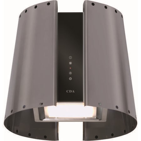 CDA 3L9SS Lamp Shade Island Cooker Hood Stainless Steel