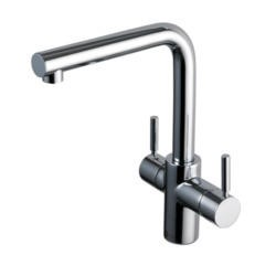 ISE 3N1CHROME 3-in-1 Hot Cold And Steaming Water Tap Chrome