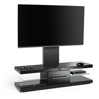 Techlink Echo EC130TVB TV Stand with Bracket - for screens up to 60""