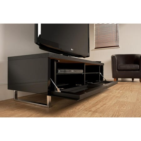 "Techlink PM120B Panorama Black TV Stand for up to 60"" TVs"