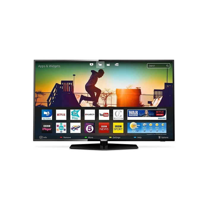 grade a1 philips 65pus6162 65 4k ultra hd hdr led smart tv with 1 year warranty 65pus6162 05. Black Bedroom Furniture Sets. Home Design Ideas