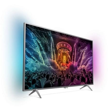 "GRADE A1 - Philips 43PUS6401 43"" 4K Ultra HD HDR Ambilight LED Android Smart TV with 1 Year Warranty"