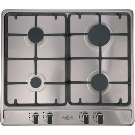 Belling GHU60GC 60cm 4 Burner Gas Hob in Stainless steel