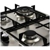 Belling GHU602GC 58cm Front Control Four Burner Gas Hob - Stainless Steel