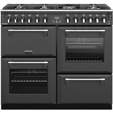Stoves S1000DF 100cm Dual Fuel Range Cooker - Anthracite