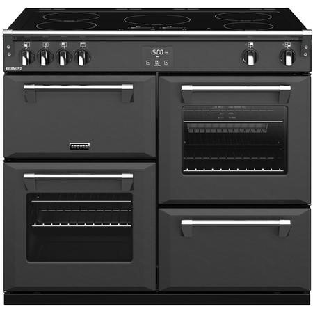 Stoves S1000Ei 100cm Electric Range Cooker With Induction Hob - Anthracite