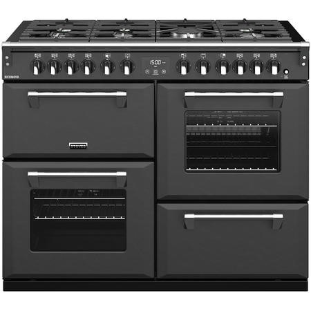 Stoves S1100DF 110cm Dual Fuel Range Cooker - Anthracite
