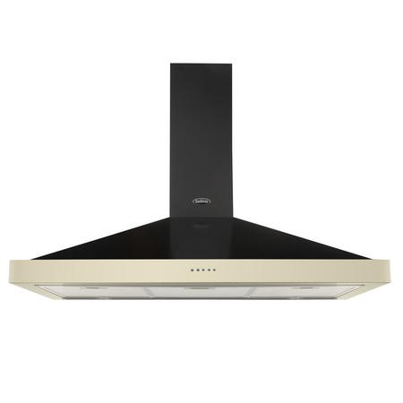 Belling Farmhouse 100 Chim 100cm Chimney Cooker Hood - Cream