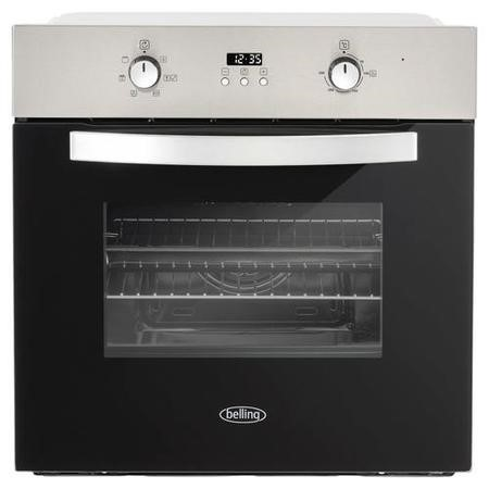 Belling 444410814 BI602F Multifunction Electric Built-in Single Oven With Timer - Stainless Steel