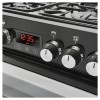 Belling 444410824  Cookcentre 60G 60cm Double Oven Gas Cooker - Black