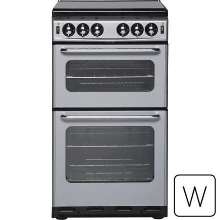 New World 500SIDLm 50cm Twin Cavity Gas Cooker