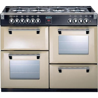 Stoves Richmond 1000DFT 100cm Dual Fuel Range Cooker - Champagne