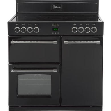 444440383 Belling Classic 90E 90cm Electric Range Cooker - Black