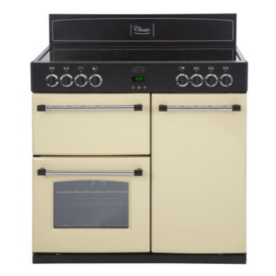 444440385 Belling Classic 90E 90cm Electric Range Cooker - Cream