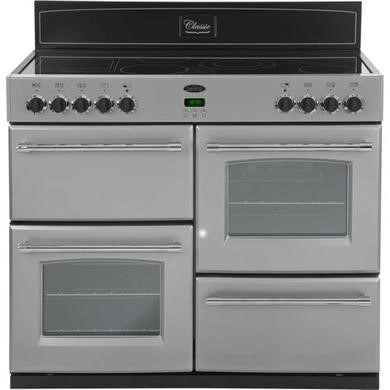 444440391 Belling Classic 100E 100cm Electric Range Cooker in Silver