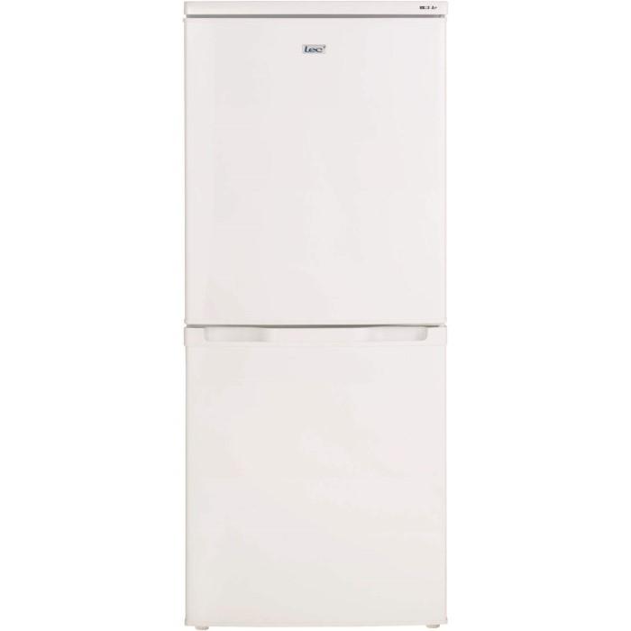 Lec t5039w 50cm wide freestanding fridge freezer white for Kitchen cabinets 50cm wide
