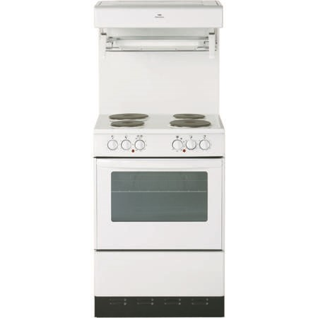 New World NW 55HLGE High Level 55cm Electric Cooker in White