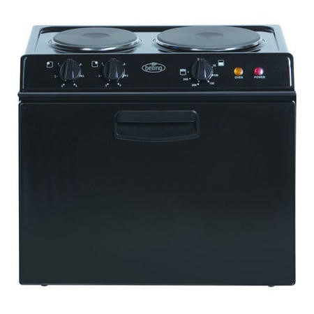 Belling BABY BELLING 321R Compact Electric Cooker Black