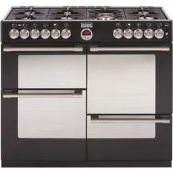 Stoves Sterling R1000DFT 100cm Dual Fuel Range Cooker - Black