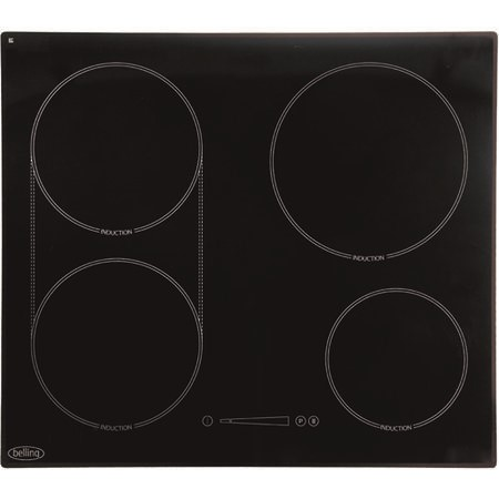 Belling IH60XL Four Zone 60cm Induction Hob in Black