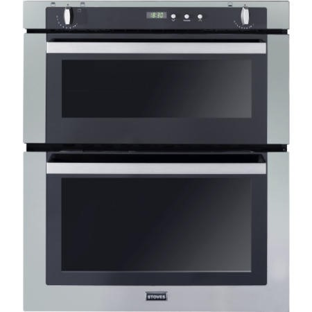 Stoves SGB700PS Gas Built Under Double Oven - Stainless Steel