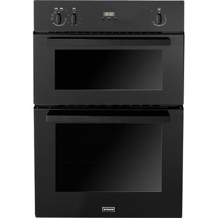 Stoves SEB900FPS Fanned Electric Built In Double Oven in Black