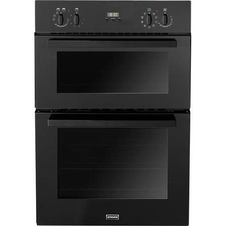 Stoves SEB900MFS Multifunction Electric Built In Double Oven in Black