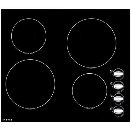 Stoves SEH600iR 58cm Rotary Control Induction Hob