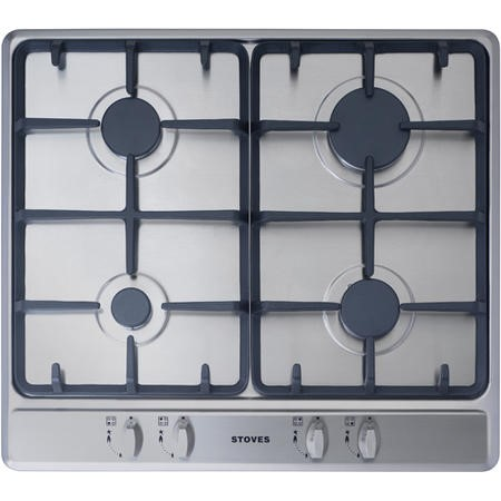GRADE A1 - Stoves SGH600C 60cm Gas Hob in Stainless Steel