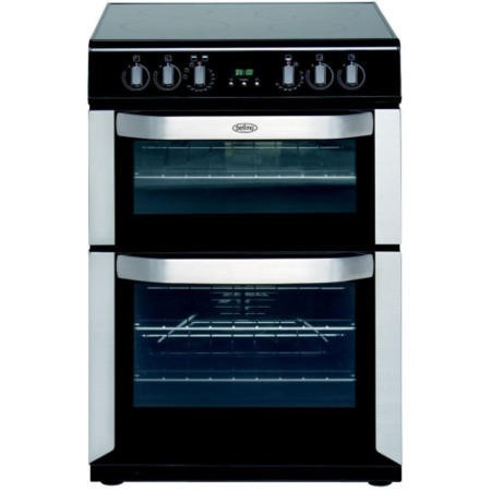Belling Fse60doi Double Oven 60cm Electric Cooker With