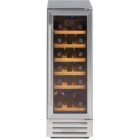 GRADE A3  - Stoves 300WC Mk2 30cm Wide 18 Bottle Wine Cooler With Stainless Steel Door