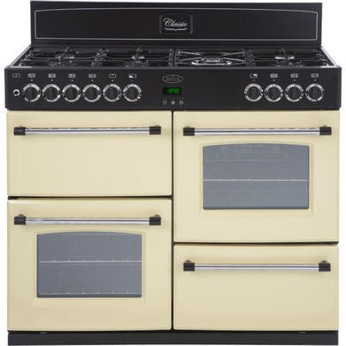 444440923 Belling Classic 100GT 100cm Gas Range Cooker - Cream
