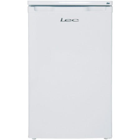 LEC R5511 55cm Wide Under Counter Freestanding Fridge In White With Ice Box