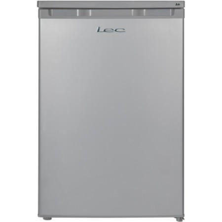 LEC R5511 55cm Wide Under Counter Freestanding Fridge In Silver With Ice Box