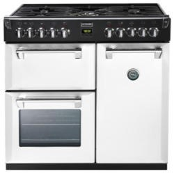 Stoves Richmond 900DFT Colour Boutique 90cm Dual Fuel Range Cooker - Icy Brook