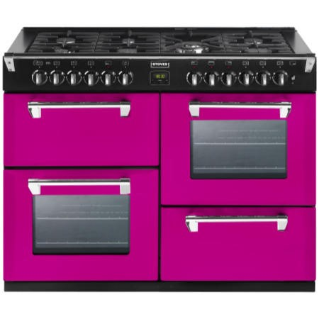 Stoves Richmond 1000DFT Colour Boutique 100cm Dual Fuel Range Cooker - Floral Burst