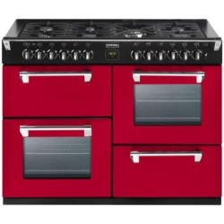 Stoves Richmond 1100GT Colour Boutique 110cm Gas Range Cooker - Hot Jalapeno