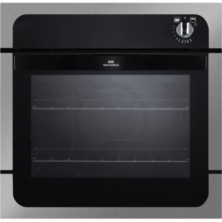 New World NW601G Gas Built In Single Oven Stainless Steel