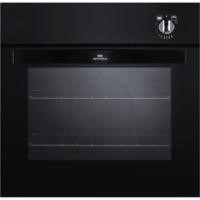 New World NW601G Gas Built In Single Oven Black