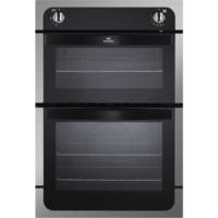 New World NW901G Gas Built In Twin Cavity Oven Stainless Steel