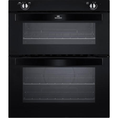 New World NW701DO Electric Built Under Double Oven In Black